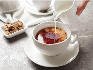 Milk tea benefits in hindi