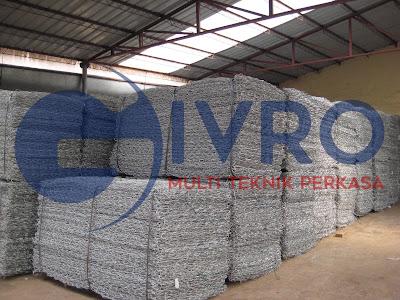 Pabrik Kawat Bronjong Galvanis Untuk Mega Proyek Berskala Besar