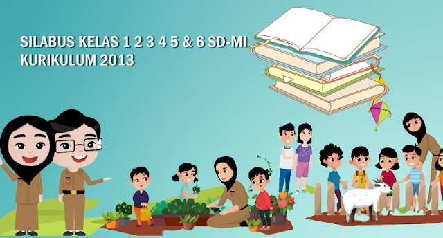 Silabus Kelas 1 2 3 4 5 dan 6 SD/MI Semester 1 dan 2 Kurikulum 2013 Edisi Terbaru