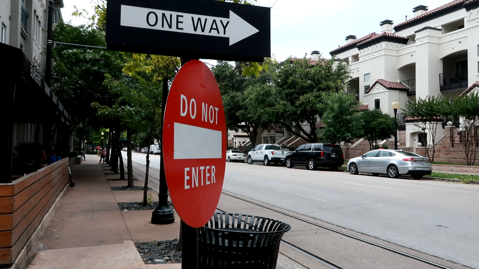 Image: One way Stop Sign in Dallas Texas. Seen first on Bits and Babbles Blog