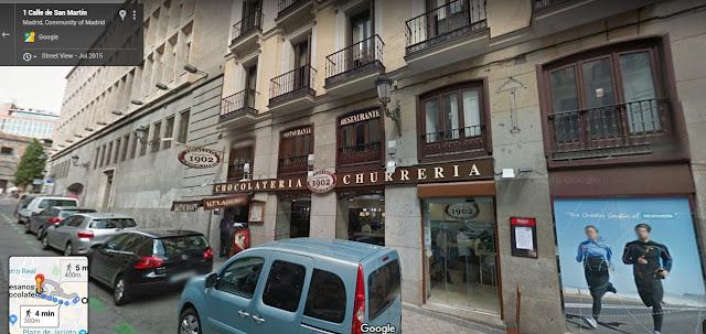 Churreria Los Artesanos 1902 di Calle de San Martin