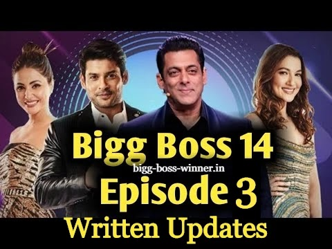 Bigg Boss 14 Episode 3 Written Updates