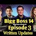 Bigg Boss 14 Episode 3 Written Updates: Sidharth Punkab Ka Jija, First Task of BB14 and many more...