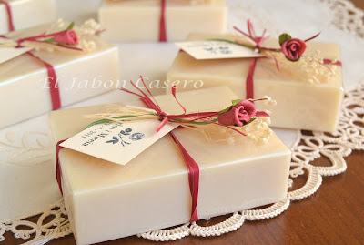 Detalles boda hechos a mano jabones naturales