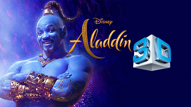 Aladdin (2019) 3D SBS Full 1080p Latino-Ingles