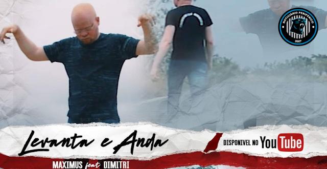 O rapper angolano Maximus lança o clipe 'Levanta e Anda'