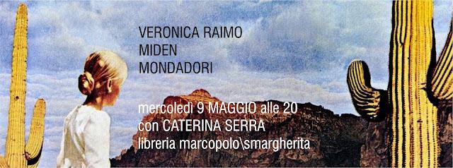 Veronica Raimo alla MarcoPolo - mercoledì 9 maggio