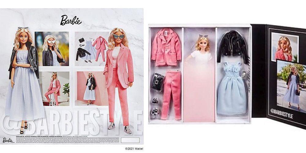 Новая кукла Барби весна 2021 @BarbieStyle Fashion series
