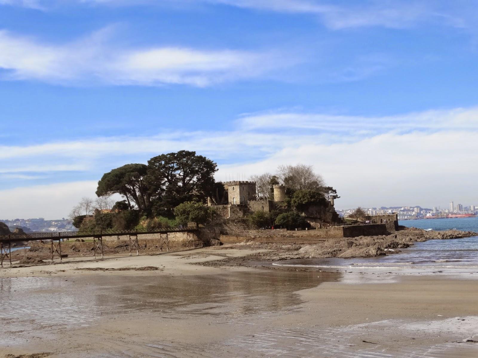 Castillo de Santa Cruz en Oleiros