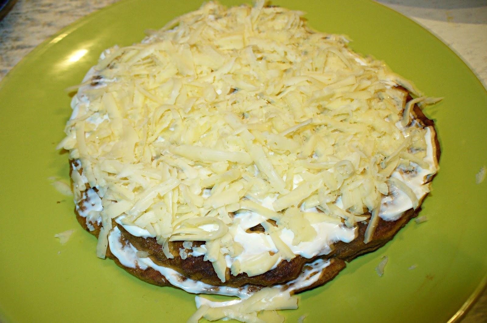 начинка для печеночного торта