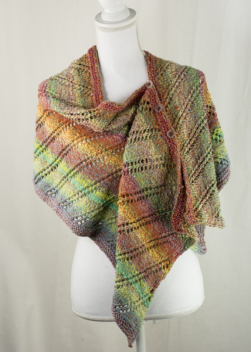 Rainbow Wrap - Free Pattern