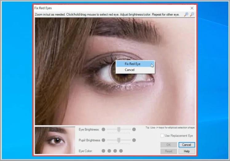 S10 RedEyes : Επιδιορθώστε τα κόκκινα μάτια στις φωτογραφίες σας