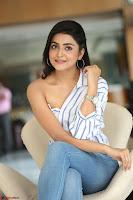 Avantika Mishra in One Shoulder Crop Top and Denim Jeggings ~  Exclusive 069.JPG