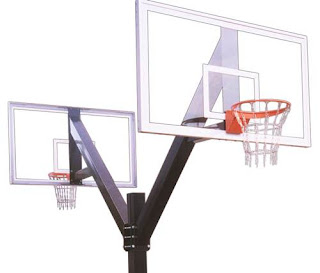 Gambar Ukuran Lapangan Basket Ring Bola Basket