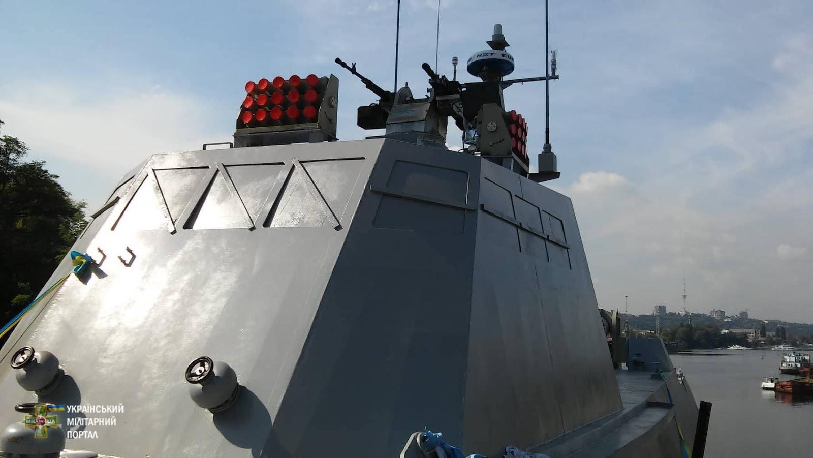 Десантно-штурмові катери Кентавр спускають на воду
