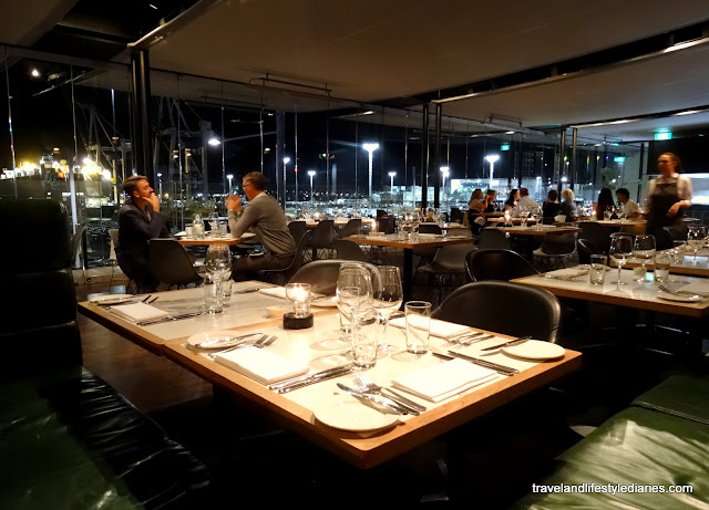 Auckland, New Zealand: Dinner at Ostro Brasserie & Bar