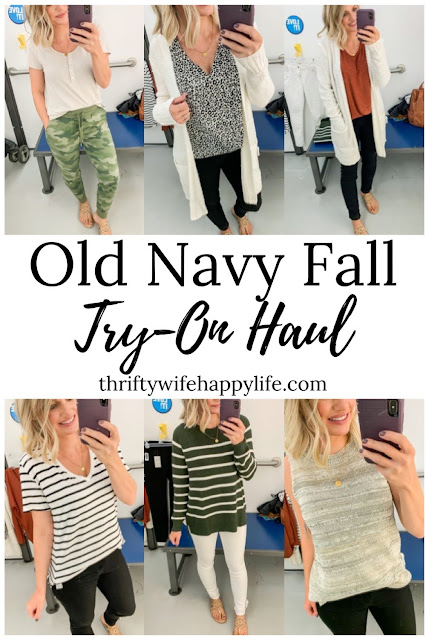 Old Navy Fall Try-On Haul