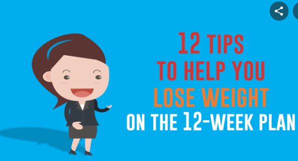 top 12 tips to help you lose weight on the 12-week plan