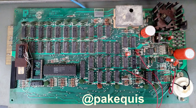 Prológica CP-200 placa