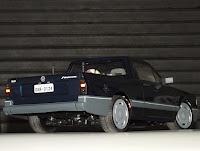 Bolha VW Saveiro quadrada bolhapoint 180mm  Escala 1/10