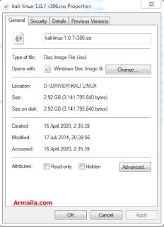 Kali Linux Live usb Veris kali-linux-1.0.7-i386.iso [Documentation]