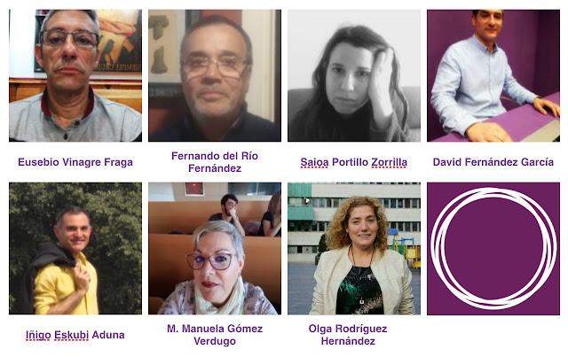 precandidatos a secretaría general Podemos Barakaldo