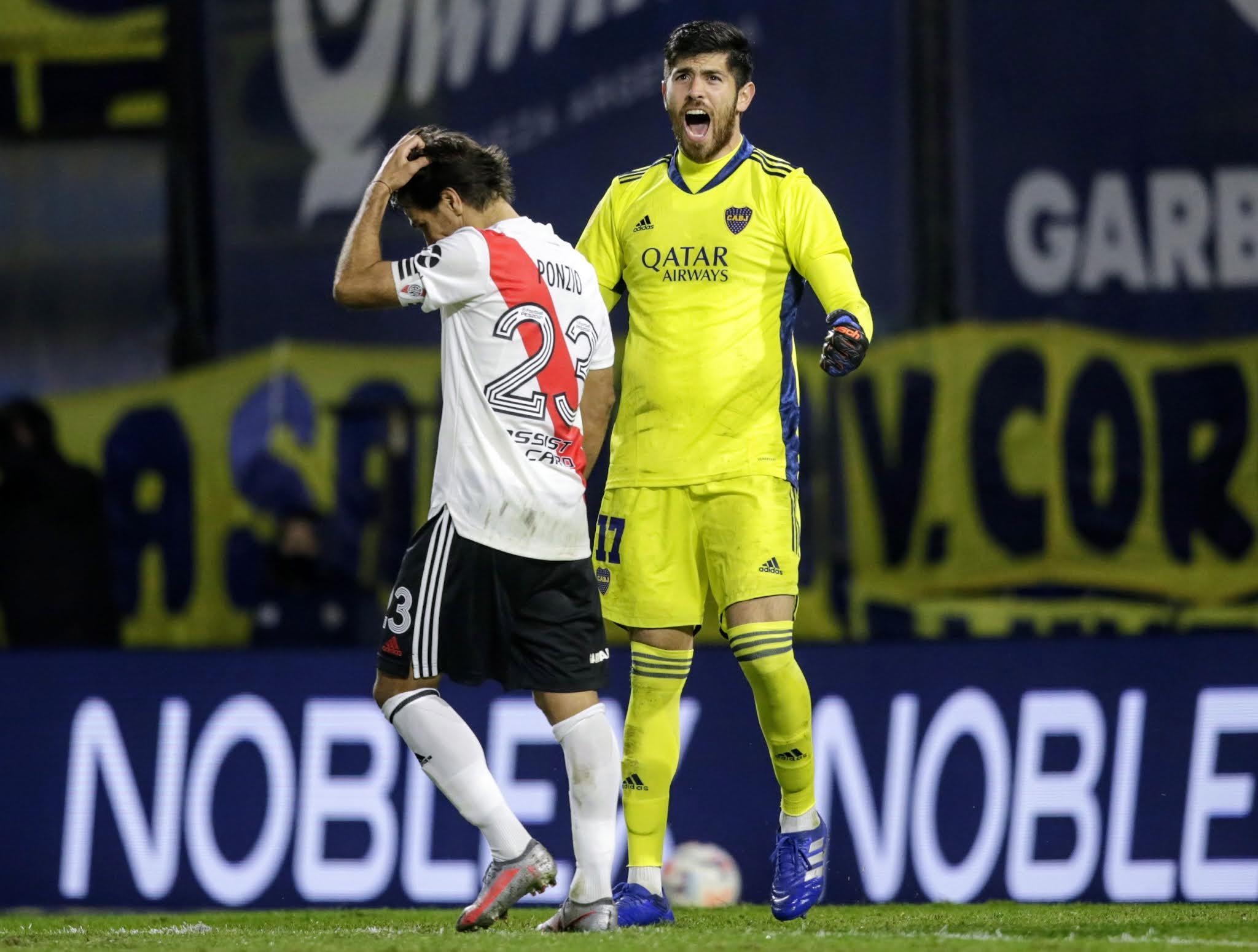 Rossi le atajó el penal a Ponzio