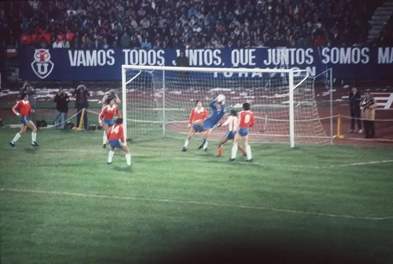 Chile y Paraguay en Clasificatorias a España 1982, 21 de junio de 1981