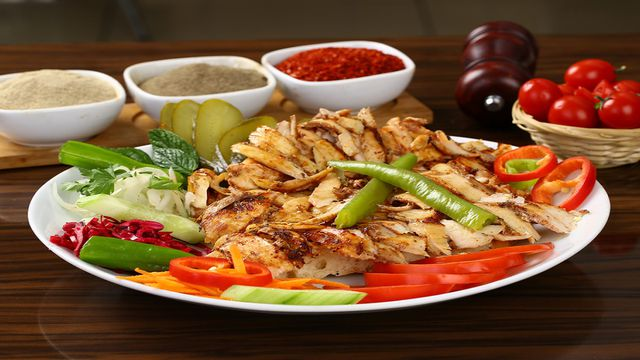 Easy Oven Roasted Chicken Shawarma