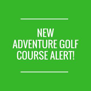 New Adventure Golf at Clarke's Golf Centre in Rainford, St Helens