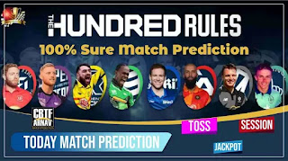 MCR vs LDN 100% Sure Match Prediction 100 Balls London vs Manchester 24th Match The Hundred Mens Competition