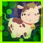 Games4King Little Milky Cow Escape