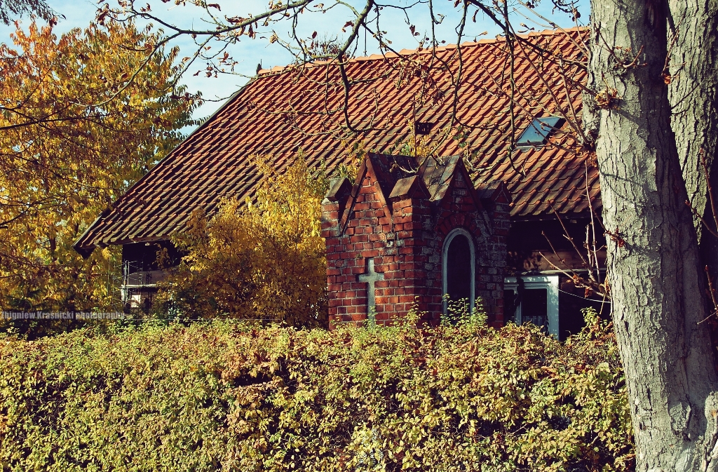 Tomaszkowo, kapliczka warmińska