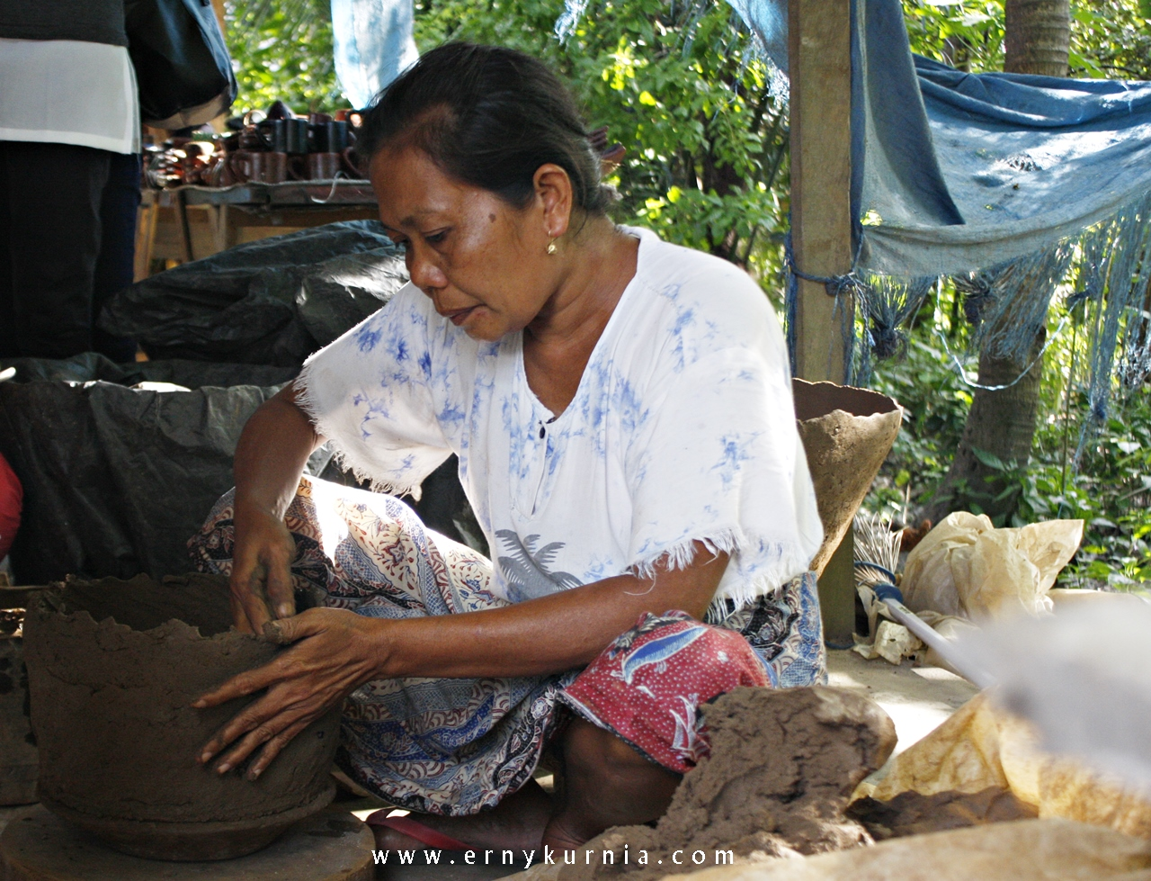 Banyumulek, Gerabah Making, Gerabah, Gerabah Lombok