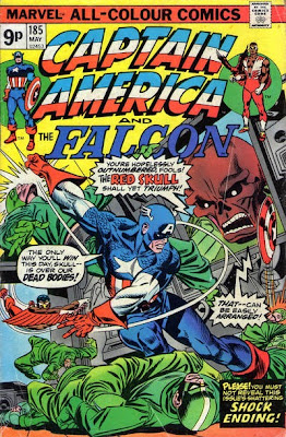 Captain America and the Falcon #185, Red Skull