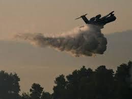 Greece fires: Foreign teams join battle on Evia island