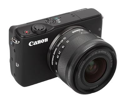 Canon EOS M10 DSLRファームウェアのダウンロード