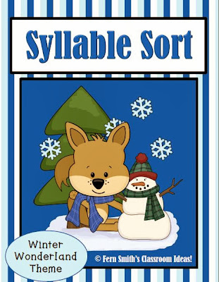 http://www.teacherspayteachers.com/Product/Syllable-Sort-Winter-Animals-Center-Game-for-Common-Core-728352