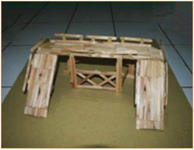 Langkah-Langkah Kerja Pembuatan Miniatur Jembatan 3