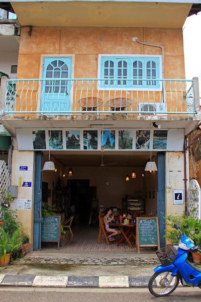 Cafe Lin en Savannakhet