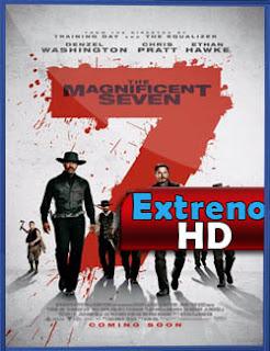 Los siete magníficos (2016) | 3gp/Mp4/DVDRip Latino HD Mega