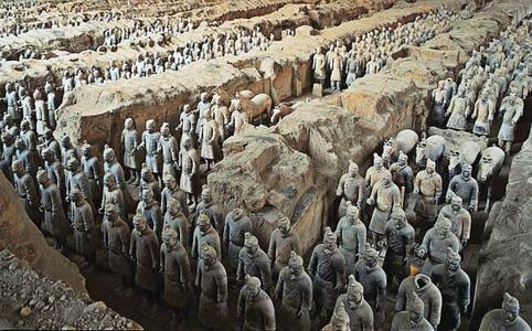 Terracotta Army penemuan spektakuler arkeolog cina