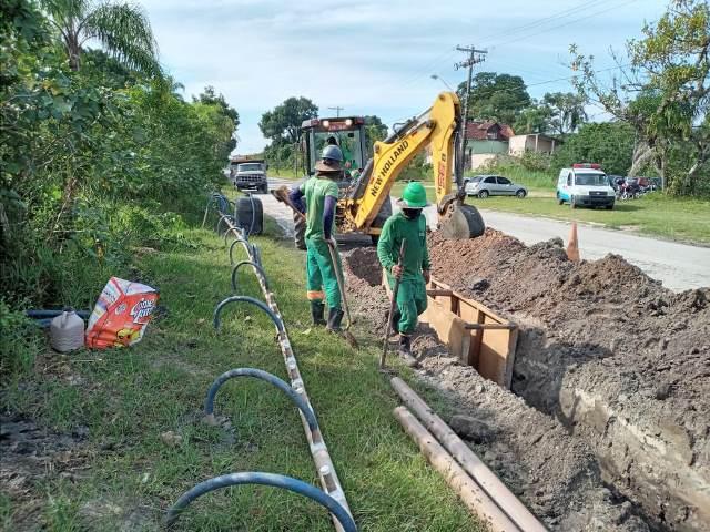 Começaram as obras de expansão do sistema de abastecimento de água no Boqueirão Sul