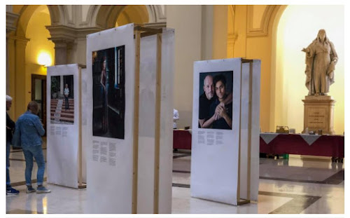 28d9a6f324446 A Vatican Jesuit university in Rome hosts an exhibition featuring a  Brazilian gay couple