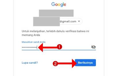 Cara Gampang Mengganti Password Email Gmail Google di Laptop dan HP Android