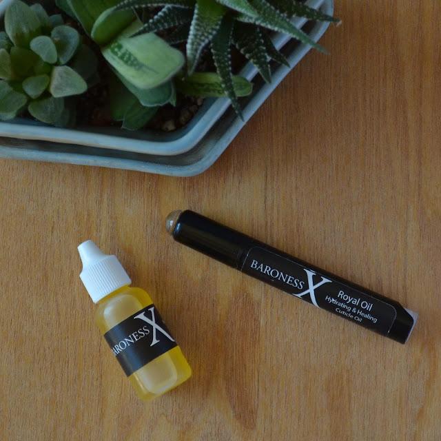 cuticle oil pen succulents