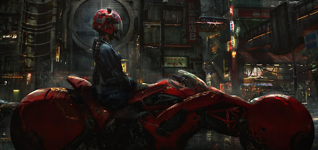 Biker Girl by Eddie Mendoza