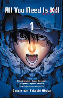 [7BD] All You Need Is Kill tome 1 chez Kaze