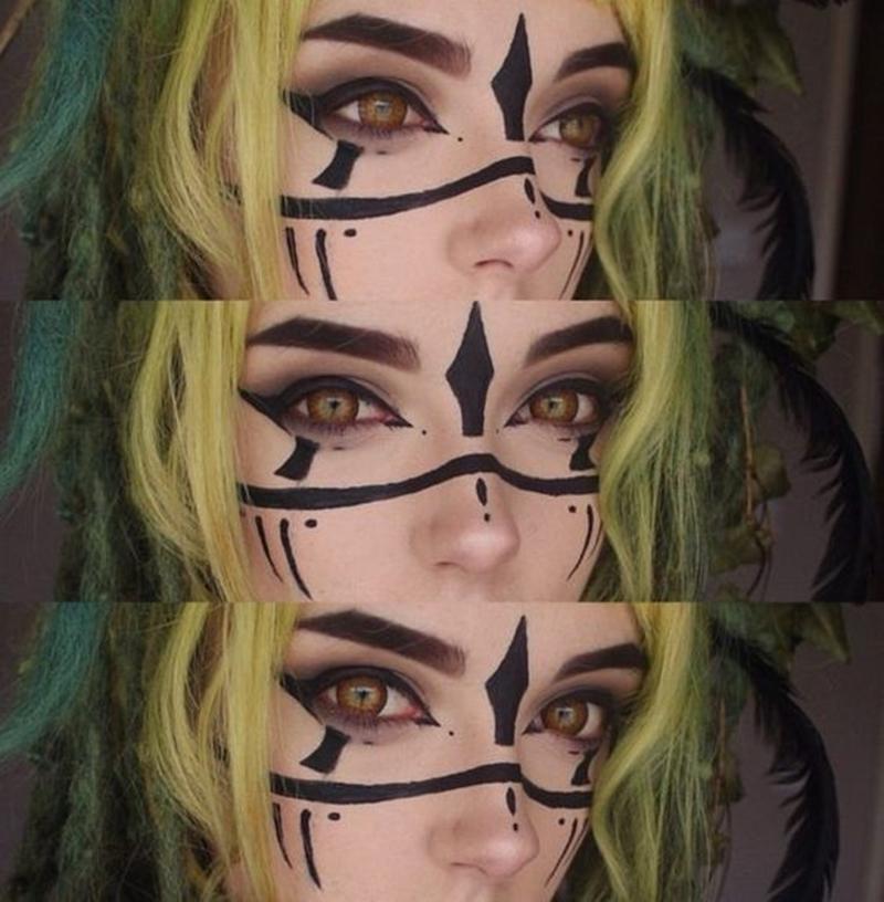 Maquiagem Elfo
