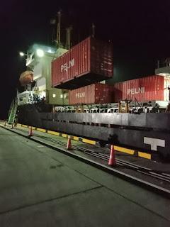 Sukses, Tol Laut Pelni Perdana Masuk Pelabuhan Patimban